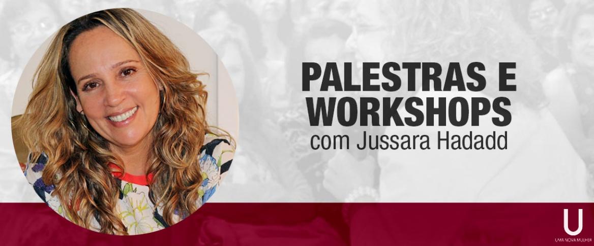 Jussara Hadadd realiza palestras sobre temas diversos que envolvem o bem estar emocional e sexual feminino. Confira os temas de palestras já realizadas.