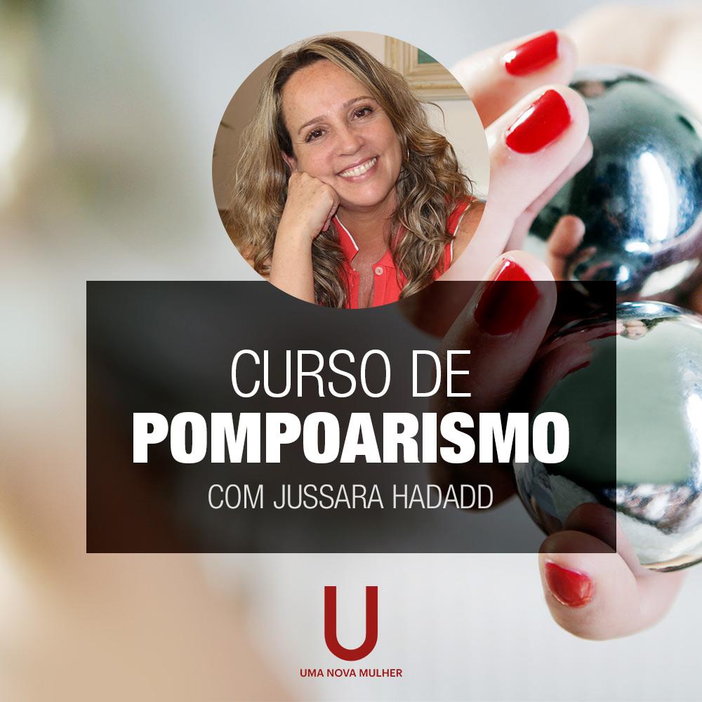 Curso de Pompoarismo com Jussara Hadadd - Curso Online ou Presencial em Consultório, em Juiz de Fora