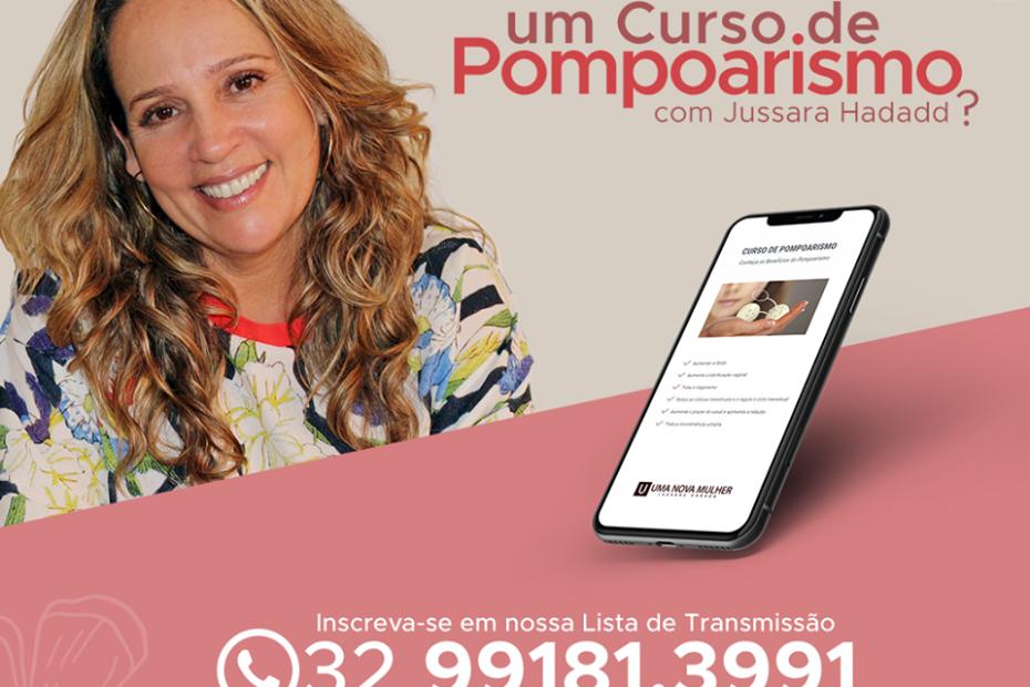 Sorteio - Curso de Pompoarismo com Jussara Hadadd